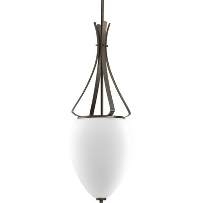 Teodora Contemporary 3-Light Hall and Foyer Pendant Finish: Forged Bronze