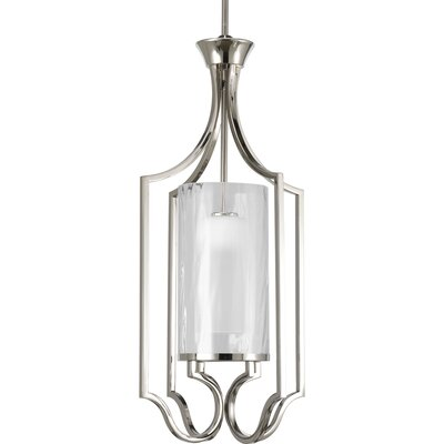 Osmanu 1-Light Foyer Pendant Size: 30 H x 14 W