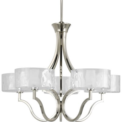 Caress 5-Light Shaded Chandelier