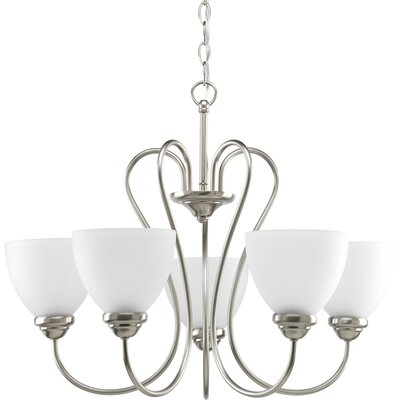 Yakubu Modern 5-Light Shaded Chandelier
