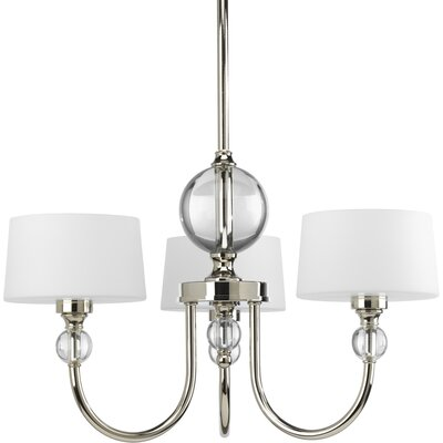Garan 3-Light Shaded Chandelier