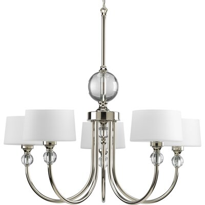 Garan 5-Light Shaded Chandelier