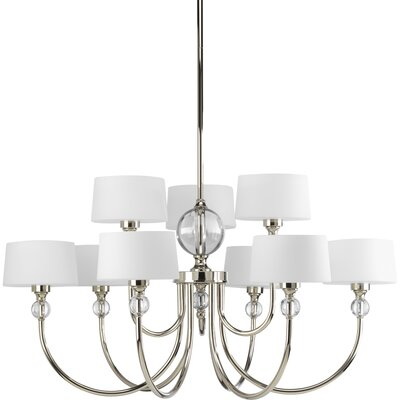 Garan 9-Light Shaded Chandelier