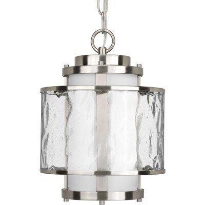 Triplehorn Modern  1-Light Pendant Finish: Brushed Nickel