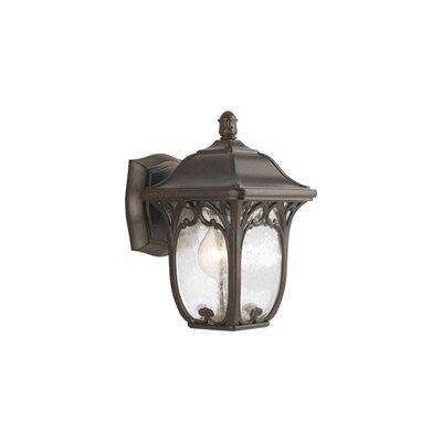 Triplehorn 1-Light Wall Espresso Lantern