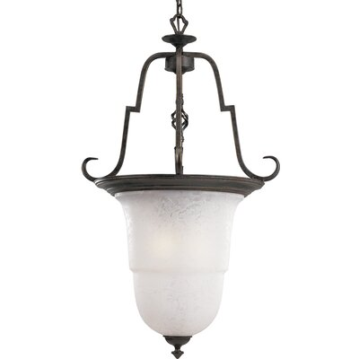 Kemberly 3-Light Foyer Pendant