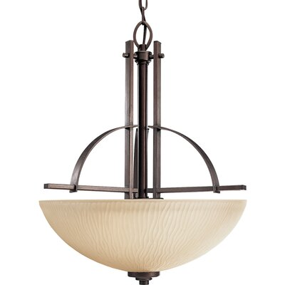 Riverside 3-Light Hall and Foyer Inverted Pendant