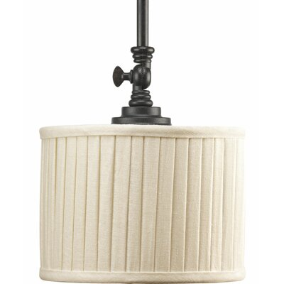 Clayton 1-Light Mini Drum Pendant