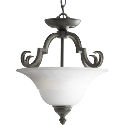 Melbourne 2-Light Convertible Inverted Pendant