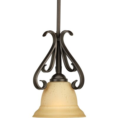 Torino 1-Light Mini Pendant Finish: Forged Bronze