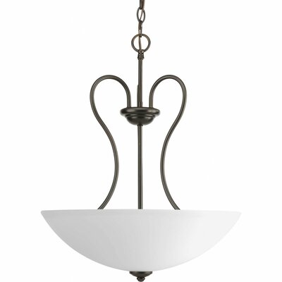 Heart 3-Light Hall and Foyer Pendant