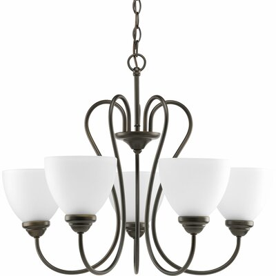 Yakubu 5-Light Shaded Chandelier