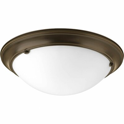 Tod Modern 3-Light Flush Mount Finish: Antique Bronze