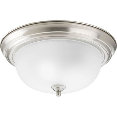 Rexroad 2-Light Flush Mount Finish: Brushed Nickel