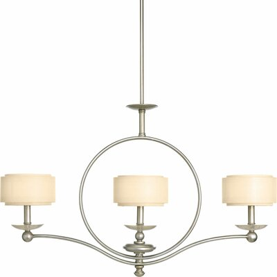 Ashbury 3-Light Shaded Chandelier