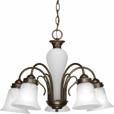Bedford 5-Light Shaded Chandelier