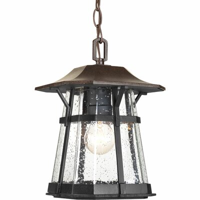 Triplehorn 1-Light Casual  Hanging Lantern