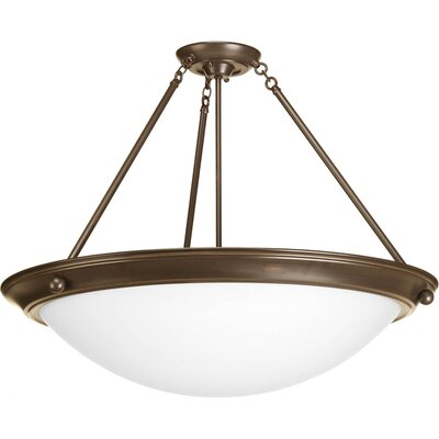 Eclipse 4-Light Semi-Flush Mount Finish: Antique Bronze