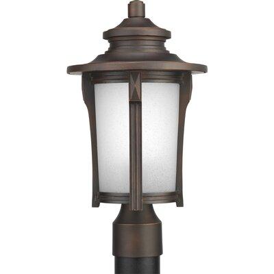 Triplehorn 1-Light Traditional Lantern Head in Brown