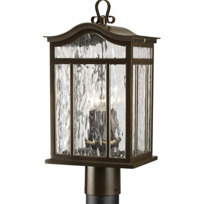 Triplehorn 3-Light Casual European Lantern Head