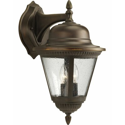 Triplehorn 2-Light Wall Clear Lantern