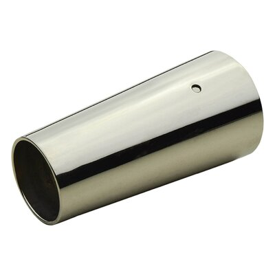 Modern Leg Cap Finish: Polished Nickel