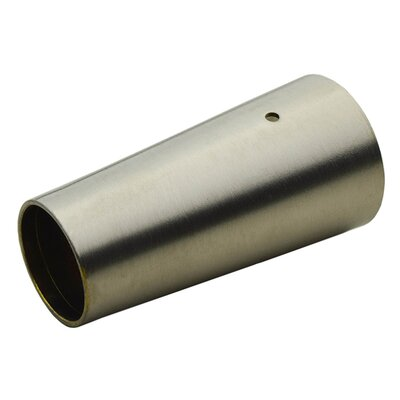 Modern Leg Cap Finish: Satin Nickel