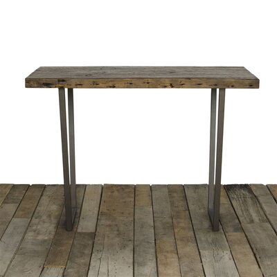 Brooklyn Dining Table Top Finish: Walnut, Size: 42 H x 36 W x 72 L