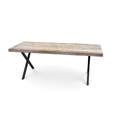 Dining Table Top Finish: Walnut, Size: 30 H x 40 W x 96 L