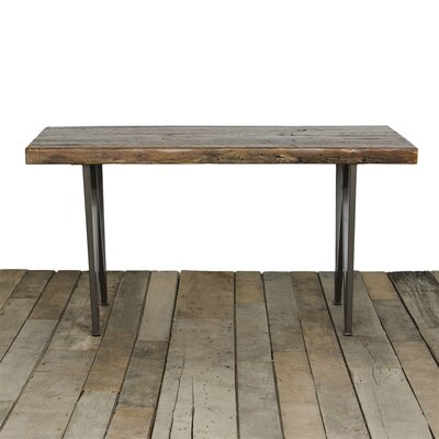 West Loop Dining Table Top Finish: Natural, Size: 30 H x 42 W x 108 L