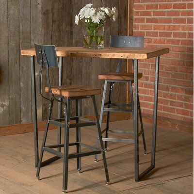 Brooklyn Dining Table Top Finish: Espresso, Size: 36 H x 36 W x 84 L