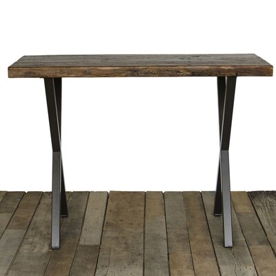 Dining Table Top Finish: Oil, Size: 42 H x 40 W x 96 L