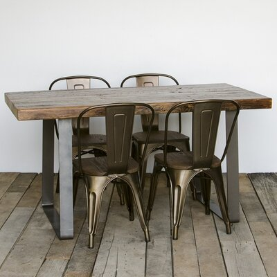 Lincoln Park Dining Table Top Finish: Oil, Size: 30 H x 42 W x 108 L
