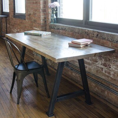 Dining Table Top Finish: Clear, Size: 42 H x 36 W x 84 L