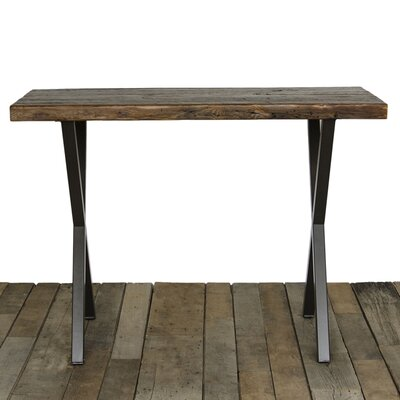 Dining Table Top Finish: Natural, Size: 42 H x 40 W x 96 L