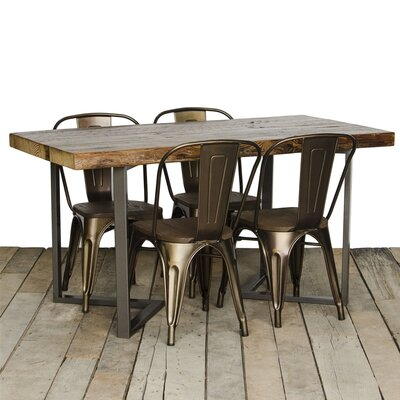 Dining Table Top Finish: Antique, Size: 30 H x 36 W x 84 L