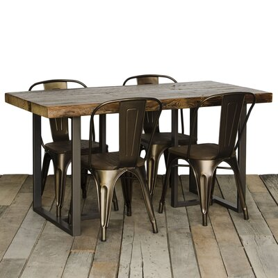 Uptown Dining Table Top Finish: Clear, Size: 30 H x 42 W x 108 L