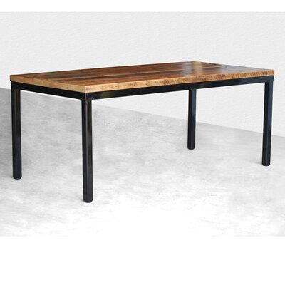 Parsons Dining Table Top Finish: Clear, Size: 30 H x 36 W x 84 L