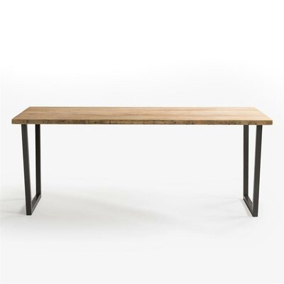 Brooklyn Dining Table Top Finish: Natural, Size: 42 H x 36 W x 84 L