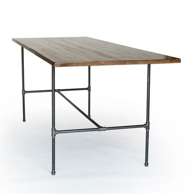 Dining Table Top Finish: Natural, Size: 36 H x 36 W x 72 L