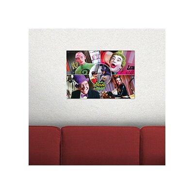 Batman Classic TV Series 'The Rogues' Graphic Art Print MP24170122