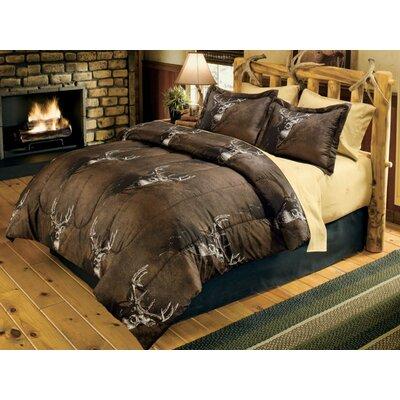Buckwear Comforter Set Size: Full