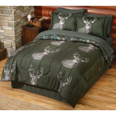 Trophy Reversible Comforter Set Size: King