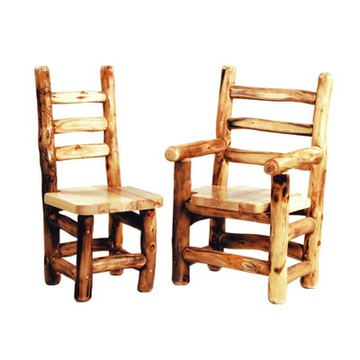Hilary Solid Wood Dining Chair Finish: Poly