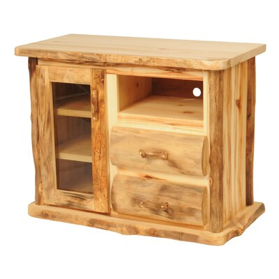 Aspen Heirloom TV Stand Finish: Golden Poly