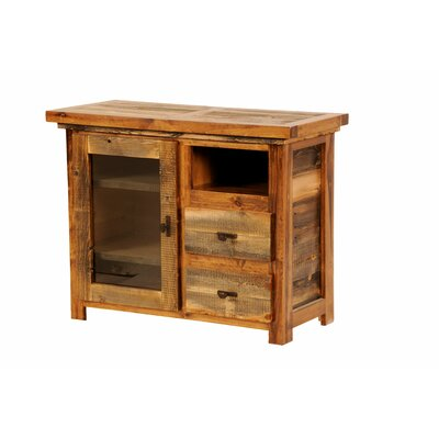 The Wyoming Collection�? 44 TV Stand Color: Contoured Wood