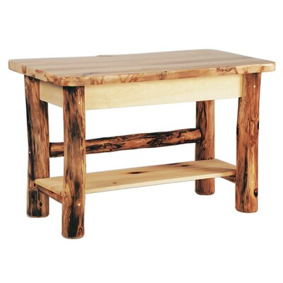 Aspen Heirloom Console Table Finish: Golden Poly