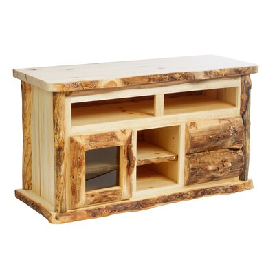 Aspen Heirloom 54 TV Stand Color: Golden Poly