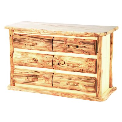 Aspen Heirloom 6 Drawer Dresser Finish: Golden Poly