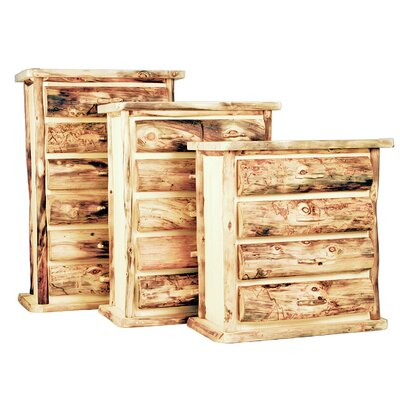 Aspen Heirloom 6 Drawer Lingerie Chest Color: Bronze Aspen